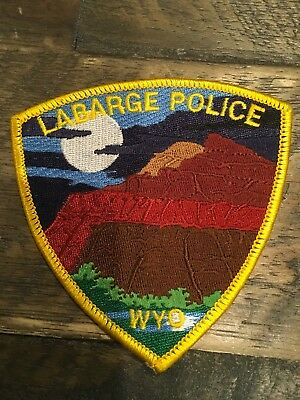 Labarge Police Department - WY - Patch