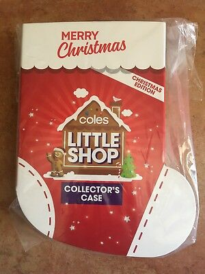 Coles Little Shop Collector's CASE Christmas Edition Mini Kids Collectables NEW