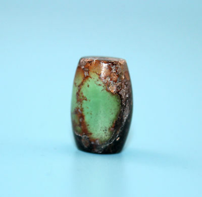 22*15 mm Antique Undressed dzi turquoise old Bead from Tibet **Free shipping**