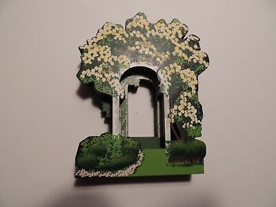 Sheila's Collectibles Houses My Favorite Places Tranquil Arbor 1997 ltd. edition