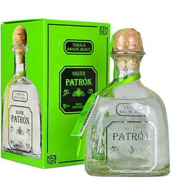 Patron Tequila Silver 700 Ml Agave Mexico
