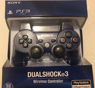 Sony PS3 Wireless  Dualshock 3 Controller - Blue