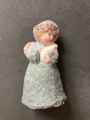 Teena Flanner Original One Of A Kind Victorian Angel With Lamb