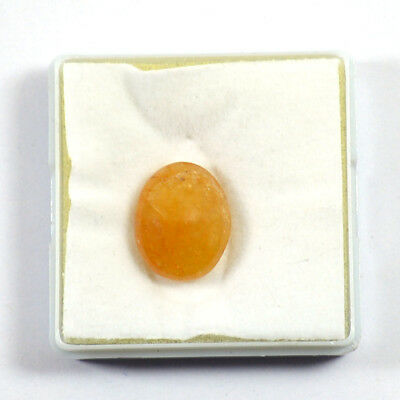 Citrine Natural Cabochon Crystal Loose Gemstone Oval Shape, 10-20 Ct