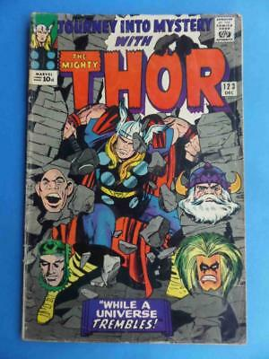 Journey Into Mystery 123 1965 Thor! Absorbing Man!