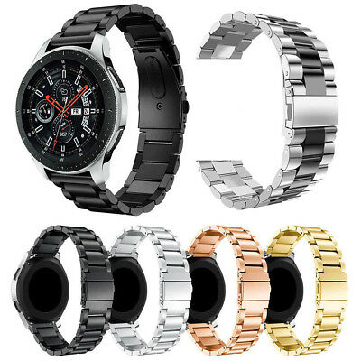 Stainless Steel Watch band Strap for Samsung Galaxy Watch 42mm 46mm + Link Tool