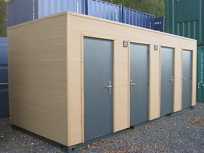 Container conversion, site toilet, shower, portable, toilet block, £12,250 + VAT