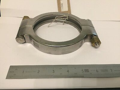 "4.5"" 41/2"" High Pressure Tri Clamp Clover Sanitary Fittings Stainless Steel 316"