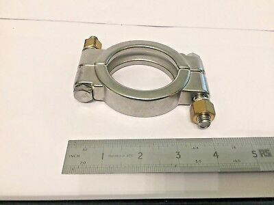 "2.5""  21/2"" High Pressure Tri Clamp Clover Sanitary Fittings Stainless Steel 316"
