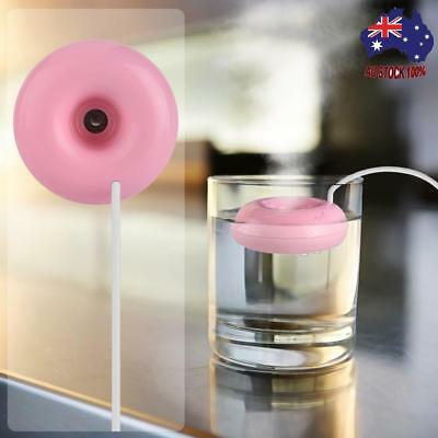 Doughnut Shaped Mini Humidifier For Home And Office USB Portable Air Fresher New