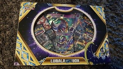 Pokemon TCG: Lunala GX Collection Box - Includes Booster Packs + Promo Cards
