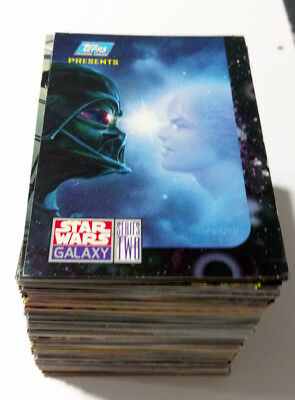 Star Wars Galaxy Two Complete Base Card Set