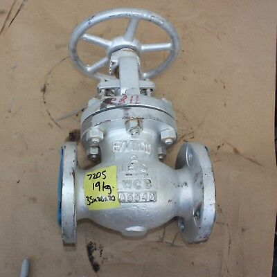 "EMICO GATE VALVE WCB 2"" inch class 150 DN50 50mm WCB Manual A5548"