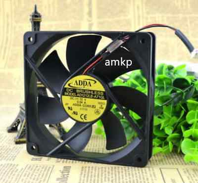 ADDA AD1212LB-A71GL Mute Chassis power supply cooling fan DC12V 0.24A 12025 2pin