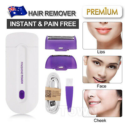 Instant & Pain Free Touch Hair Removal Remover Laser Epilator Body Face Women