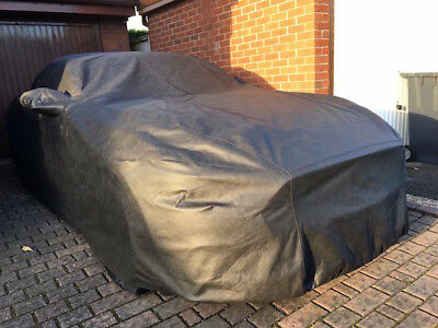 Ford Mustang 2016 onwards Tailored, Breathable Cielo Outdoor Car Cover - Black
