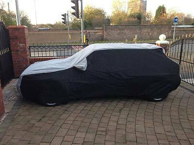 Lancia Delta Integrale  Tailored Breathable Fitted Car Cover - Black & Grey