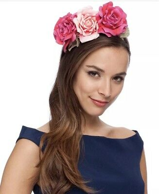"MORGAN & TAYLOR ""Natalie"" Fascinator RRP$49.95"