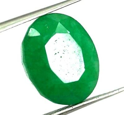 GGL Certified 6.60 Ct Natural Oval Cut Green Emerald Gemstone Hurry Now c25