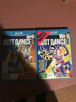 Just Dance 2016 & Just Dance 2017 - Nintendo Wii U Game