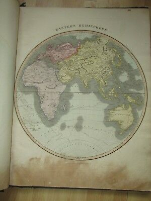 Thomson New General Atlas 1814 to 1817 complete with all 74 pages