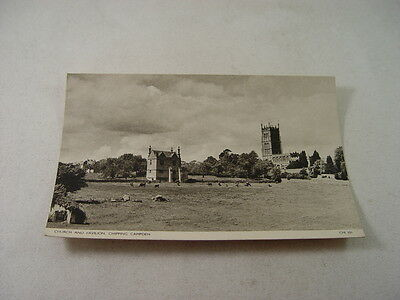 TOP9298 - Postcard - Church and Pavilion, Chipping Campden