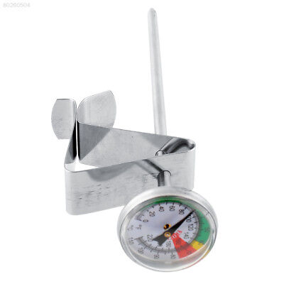 56CA Home Stainless Steel Milk Froth Thermometer Coffee Pro Temperature Meter