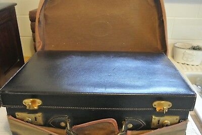 Antique Vanity / Grooming/ Travel Set Case, Silver Hallmarked