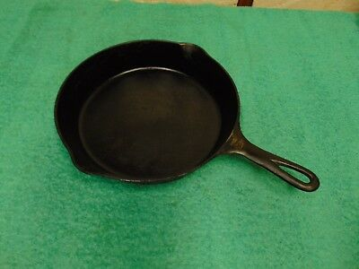 Vintage Griswold No. 8 Cast Iron Skillet with Large Block Logo - 704 C