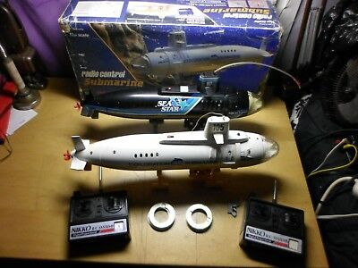 1983 Vintage Nikko Radio Controlled Submarines 1/250 Scale Parts Not Working ?