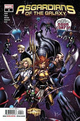 Asgardians Of The Galaxy #4 (2018) 1St Printing Bagged & Boarded Marvel Comics