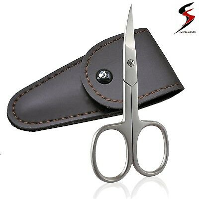 Ss Super Sharp Curved Edge Cuticle Nail Scissors Arrow Point Silver Steel