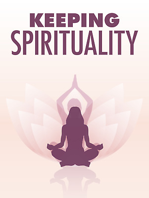 Keeping Spirituality eBook PDF with Resell Rights  Free Shipping.