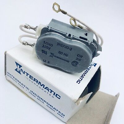 Replacement Motor 1Pnj8 For Use With Intermatic T1900, T8800, R8800 Series Timer