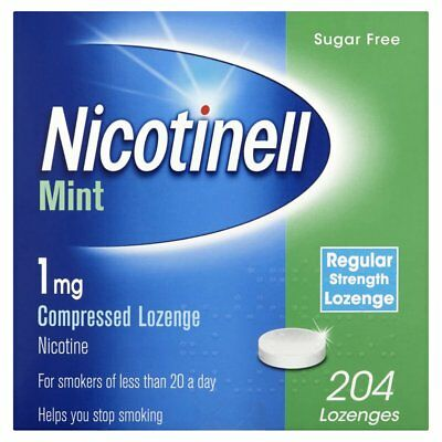 Nicotinell Mint (1mg) Compressed Lozenges (204) Sugar Free