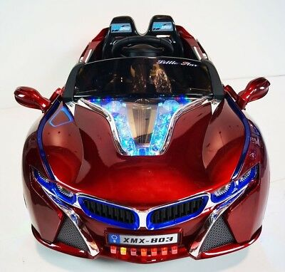 Bmw I8 Style Kids Ride On Battery Powered Electric Car With Remote