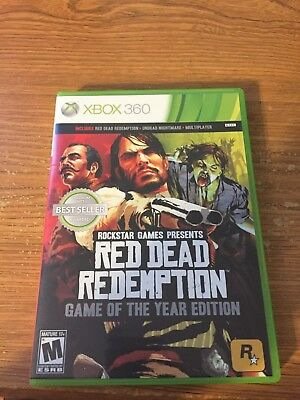 Red Dead Redemption: Game of the Year Edition - Xbox 360. Tested