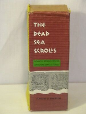 The Dead Sea Scrolls~Reduced Scale~Authentic Approved Replica Containing The Com