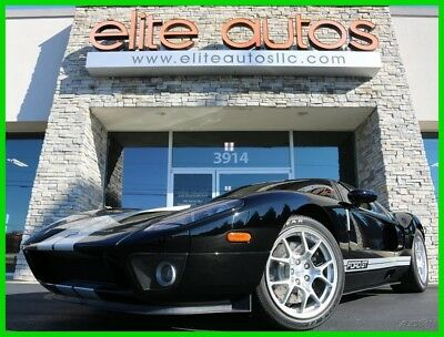 2005 Ford Ford GT  2005 FORD GT Rare BLACK with SILVER RACING STRIPES BBS Wheels ONLY 2k MILES