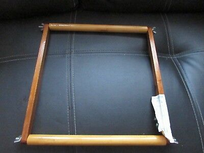 Vintage Wooden Tapestry Craft Work Frame 14 Inches By 13.5 Inches