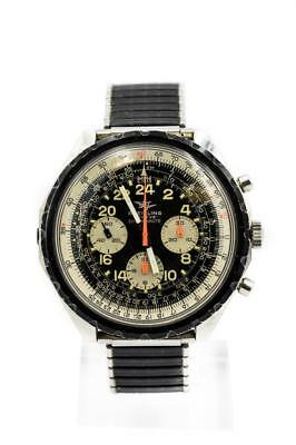 Rare Men's Breitling Cosmonaute Ref 0819 Circa 1968 First Watch In SPACE!