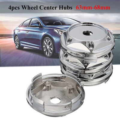 1713 63-68mm Car Vehicle Tire Wheel Rim Center Hub Cap Cover No Logo For VW BK