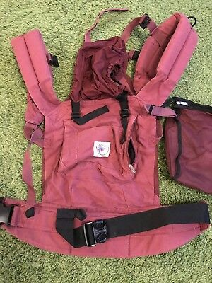 ergo baby carrier original Cranberry / Burgundy