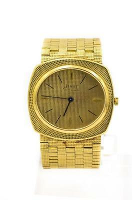 Super Rare Men's Piaget 18K Yellow Gold Micro Rotor Automatic Wristwatch