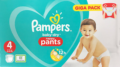Pampers New Baby Nappies Pack Size 0 2 3 4