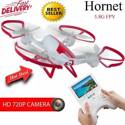 TechRC TR003 RC FPV Drone Quadcopter with 2.0MP HD Camera Live Video 6-Axis Gyro