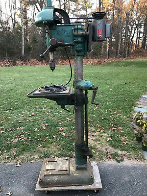 Vintage Buffalo No 18 Drill Press Works great needs nothing