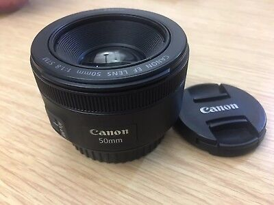 Canon EF 50 mm F/1.8 EF STM Near Mint Condition