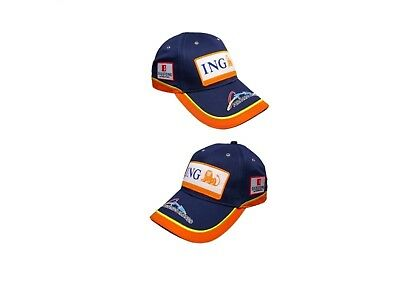 Cap:  Formula One 1 F1 NEW! ING Renault Team Alonso 2018 RRP£25