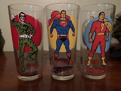 1976 Moon Series Lot Of 3 Shazam/ Superman/ Riddler